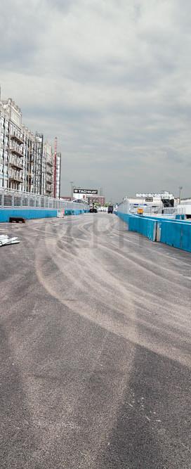 Formula E Course Construction