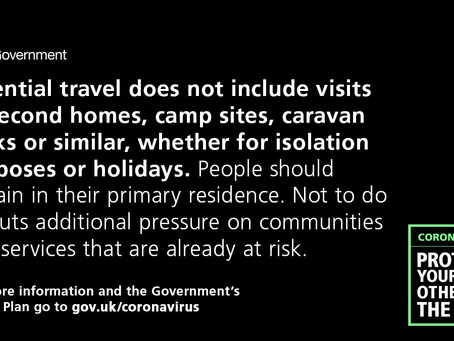 Coronavirus update 23/03/2020