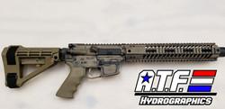 Battle Worn AR-9
