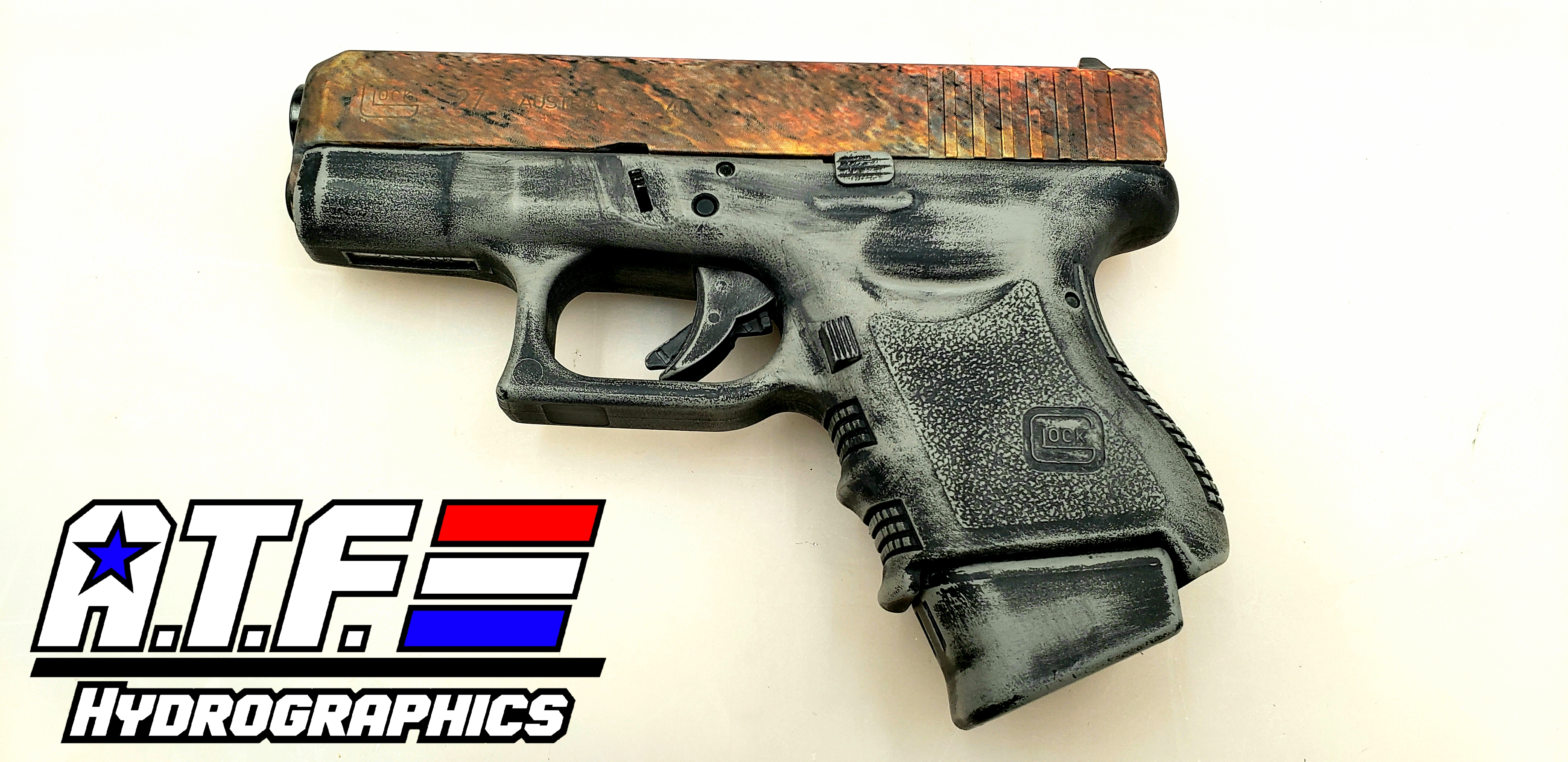 Rust/Battle worn Glock 27