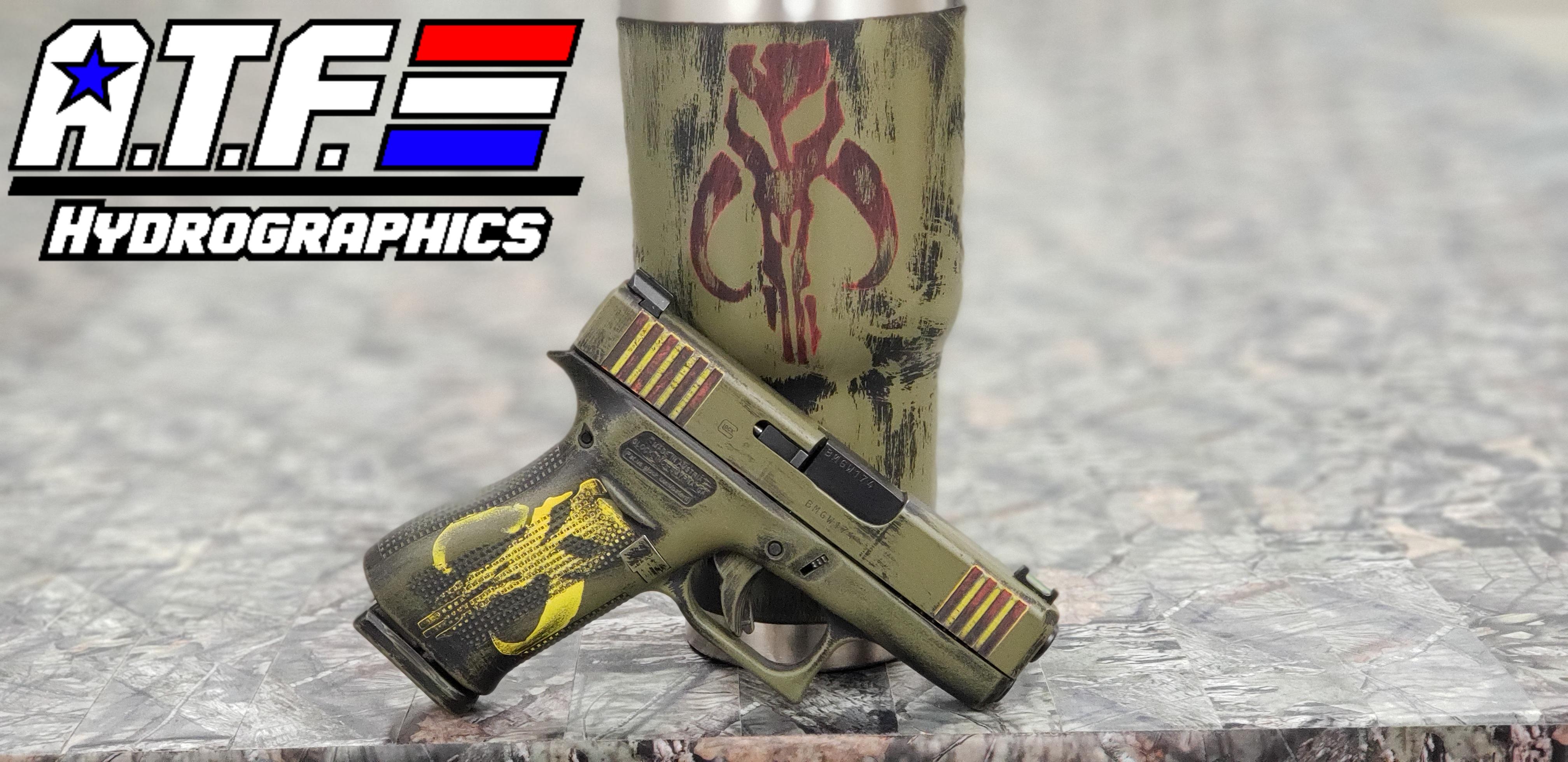 Mandalorian Glock 43x + Tumbler