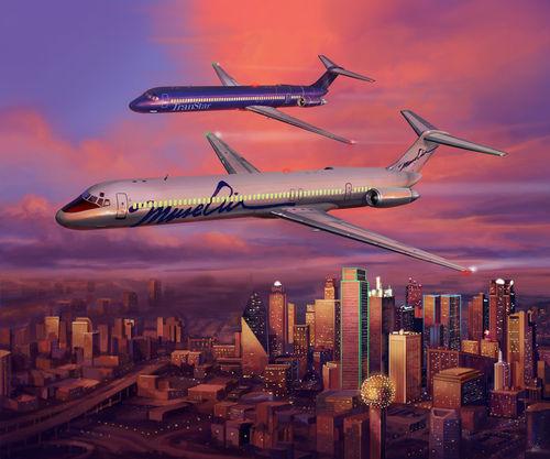 Muse Air e sua competição com a Southwest Airlines