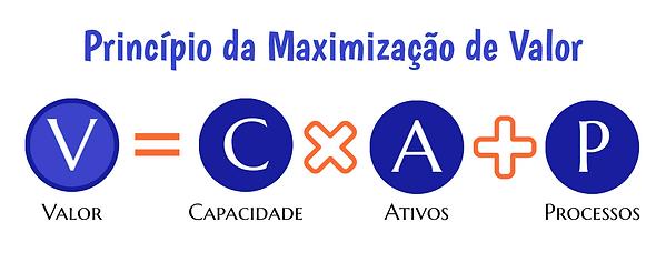 Princípio da Maximização de Valor - fórmula VCAP