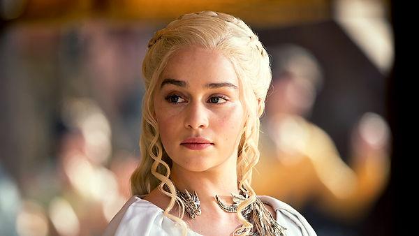 Daenerys Targaryen - uma das personangens principais de Game of Thrones