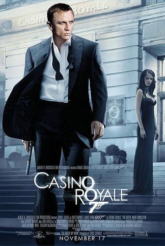 Um 007 muito mais humano em Cassino Royale