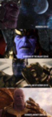 As mudanças no visual do vilão Thanos desde sua primeira aparição nos filmes da Marvel