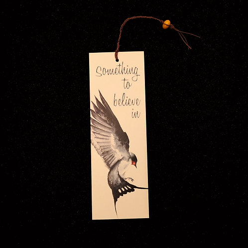 Something To Believe In - Tasseled Bookmark