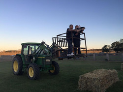 Tractor filming