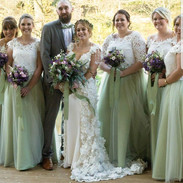 Wedding Party, wedding dresses, bridesmaid dresses