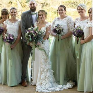 Wedding Party, wedding dresses, bridesmaid dresses