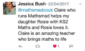 Maths mad twitter review