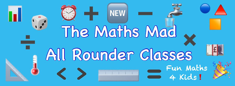 Maths Mad all rounder classes