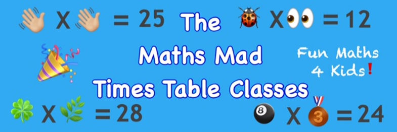 Maths Mad times table classes