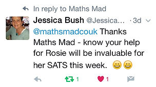 Maths Mad review twitter