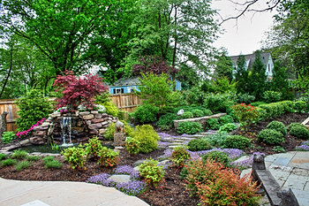Evergreen Landscaping of Brookville Maryland Projects