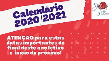 Calendário 2020/2021