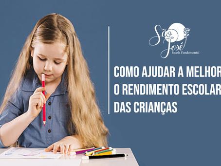 Entenda como ajudar a melhorar o rendimento escolar das crianças