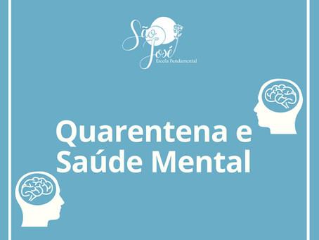 Saúde mental em distanciamento social