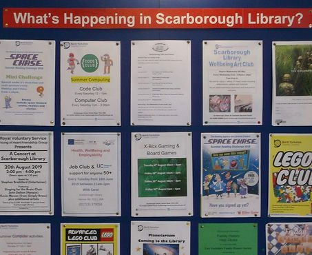 What's on Scarborough Library