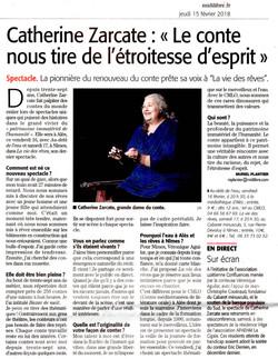 Cabaret Minusculo (Catherine Zarcate Midi Libre)