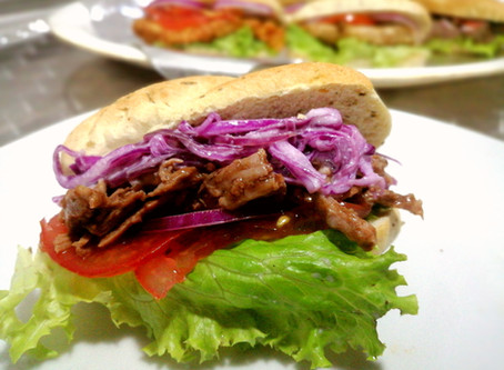 Sandwich Pulled Pork con Chipotle