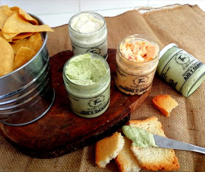 Spread de queso con Ingredientes Naturales