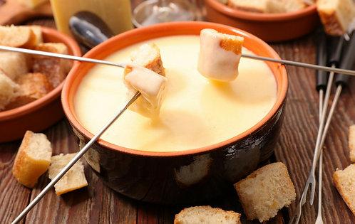 Fondue de queso marca Emmi