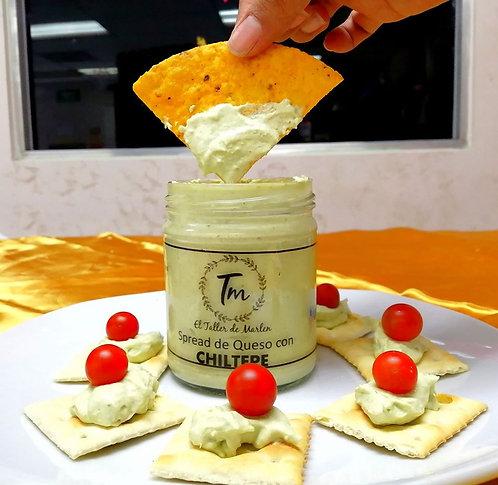 Spread de Queso Crema con Chiltepe