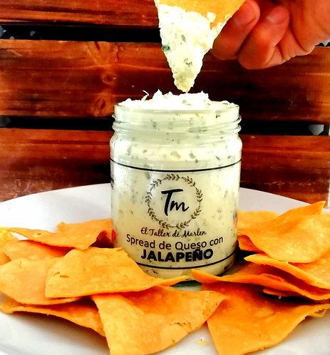 Spread de Queso Crema con Jalapeño