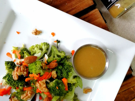 Ensalada de Brócoli con jengibre