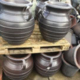 Large Glazed Vase Pots/Planters