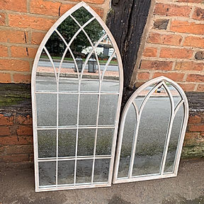Church Style Garden Mirror