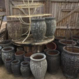 Antique Style Pots/Planters