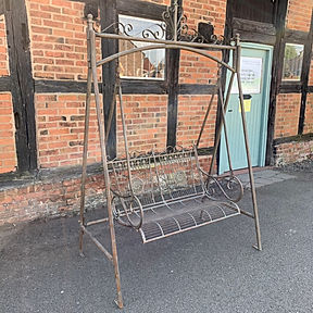 Verdigris Swing Bench
