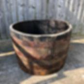 Oak Half Barrel