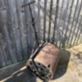 Old Grass Roller (damaged)