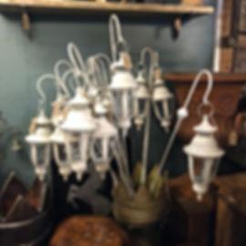 Vintage Style Crook & Lantern