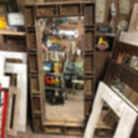 Large Brick Mould Mirror