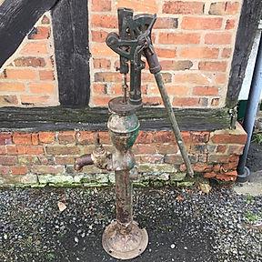 Large Vintage Water Pump