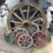 Vintage Wooden Wheels