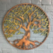 Rustic Tree of Life Wall Art