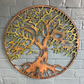 Rustic Tree of Life Wall Art