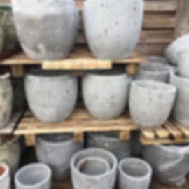 Grey Pots/Planters
