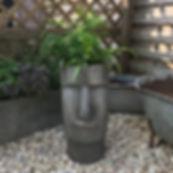 Moai Head Planter