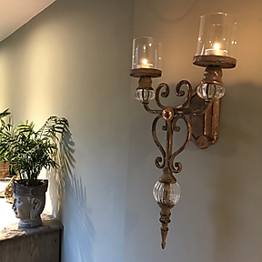 Side View of Stunning Wall Sconce