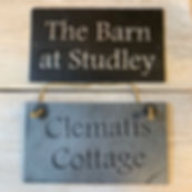 Bespoke Slate House signs