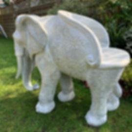 Stunning Elephant Seat / Really nice quality