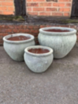 Antique Green pots