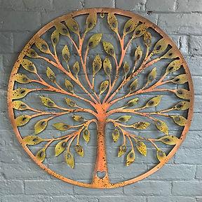 Heart Tree of Life Wall Art