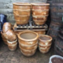 Rustic Style Pots/Planters